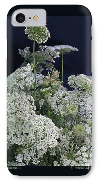 IPhone Case featuring the photograph Queen's Bouquet-ii by Patricia Overmoyer