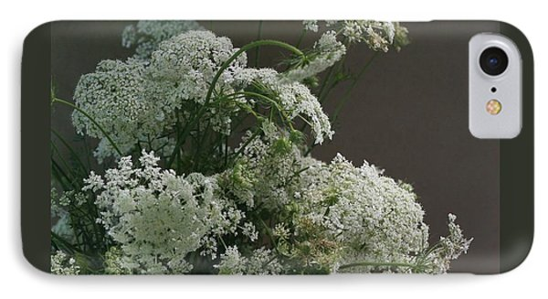 IPhone Case featuring the photograph Queen's Bouquet by Patricia Overmoyer