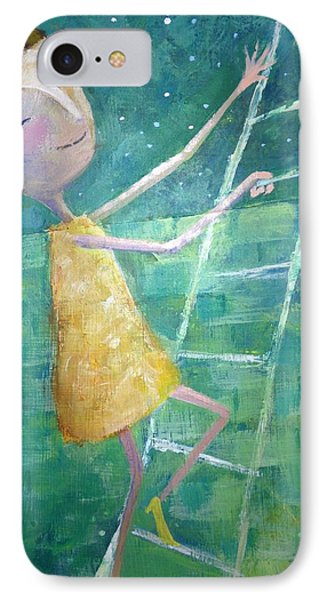 IPhone Case featuring the painting Queens Climb Higher by Eleatta Diver
