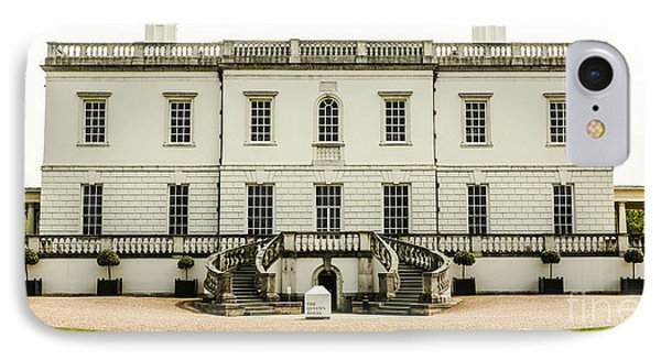 Queen's House Greenwich England IPhone Case by Lexa Harpell