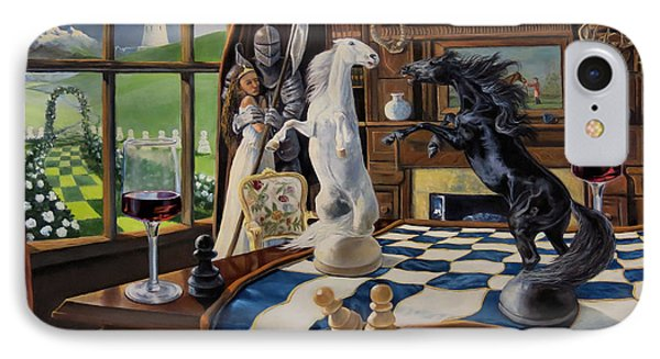Queen's Magic Phone Case by Jeanne Newton Schoborg