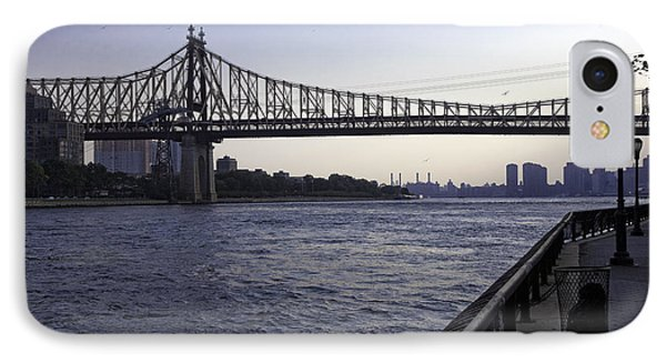 Queensboro Bridge - Manhattan IPhone Case by Madeline Ellis