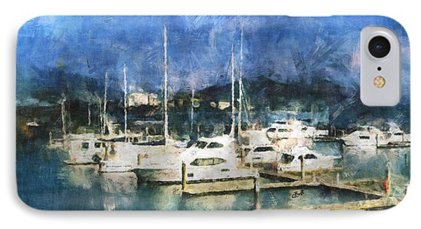 Queensland Marina Phone Case by Claire Bull