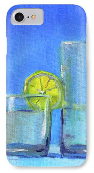 IPhone Case featuring the painting Quench by Nancy Merkle