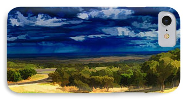 Quiet Before The Storm IPhone Case by Douglas Barnard