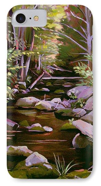 Quiet Brook IPhone Case by Nancy Griswold