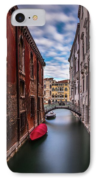 IPhone Case featuring the photograph Quiet Canal In Venice by Andrew Soundarajan