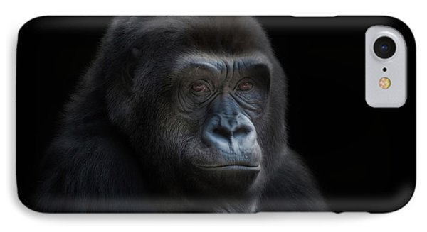 Quiet Moment IPhone Case by CR  Courson
