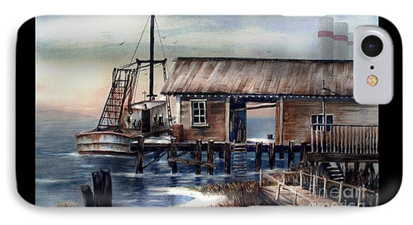 Quiet Pacific Dockside IPhone Case