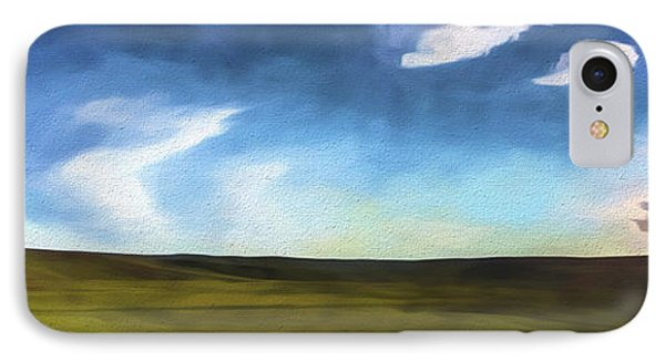 Quiet Prairie II IPhone Case by Jon Glaser