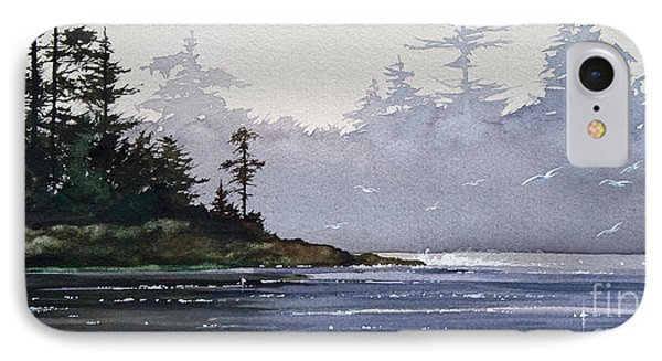 Quiet Shore IPhone Case by James Williamson