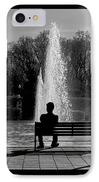 Quiet Waters Pk Silhouette IPhone Case by Brian Wallace
