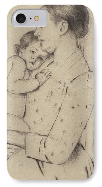 Quietude IPhone Case by Mary Stevenson Cassatt