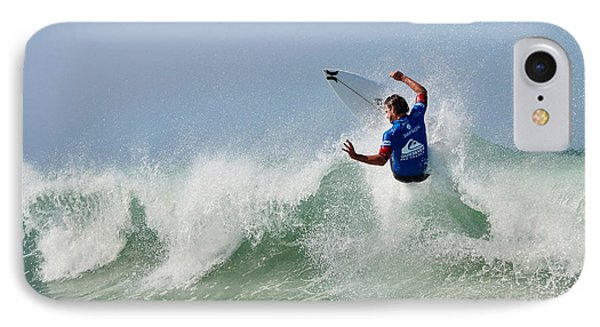 IPhone Case featuring the photograph Quiksilver Pro France I by Thierry Bouriat