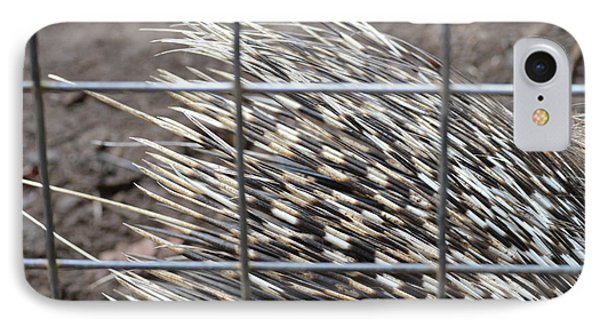 Quills Of An African Porcupine Phone Case by Linda Geiger