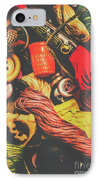 Quilting In Crochet IPhone Case