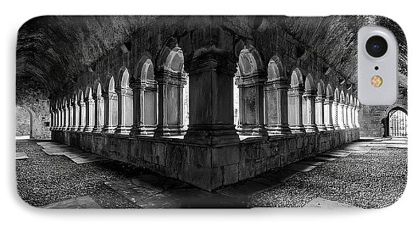 IPhone Case featuring the photograph Quin Abbey by Dennis Hedberg