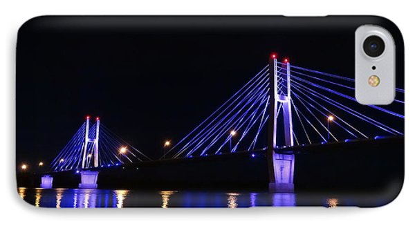 Quincy Bay View Light Reflection IPhone Case by Justin Moore
