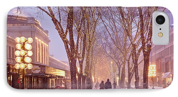 Quincy Market Stroll IPhone Case by Susan Cole Kelly