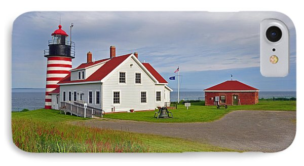 Quoddy Head Lighthouse IPhone Case