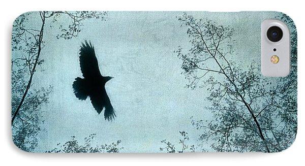 Blackbird iPhone 7 Case - Spread Your Wings by Priska Wettstein