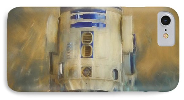 R2-d2 IPhone Case by Dan Sproul