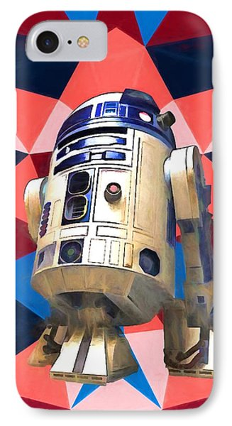 R2d2 IPhone Case by Dan Sproul