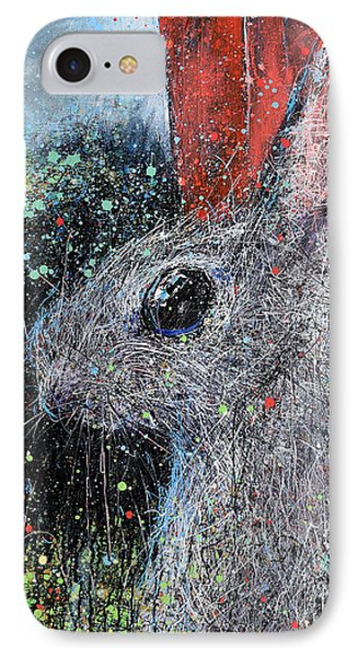 Rabbit And Barn IPhone Case