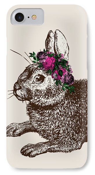 Rabbit And Roses IPhone 7 Case