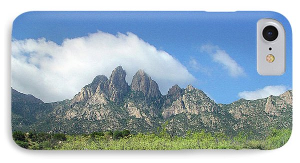 IPhone Case featuring the photograph  Organ Mountains Rabbit Ears by Jack Pumphrey