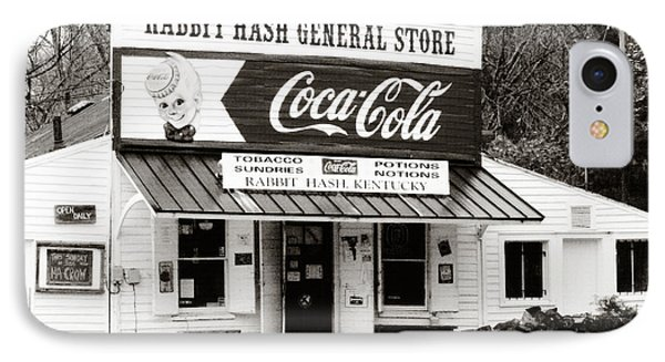 Rabbit Hash General Store- Photogaphy By Linda Woods IPhone Case by Linda Woods