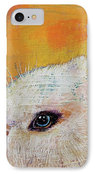 Rabbit IPhone Case by Michael Creese