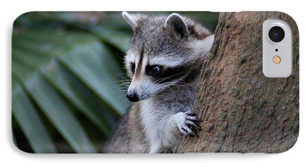 Raccoon Phone Case by Scott Pellegrin