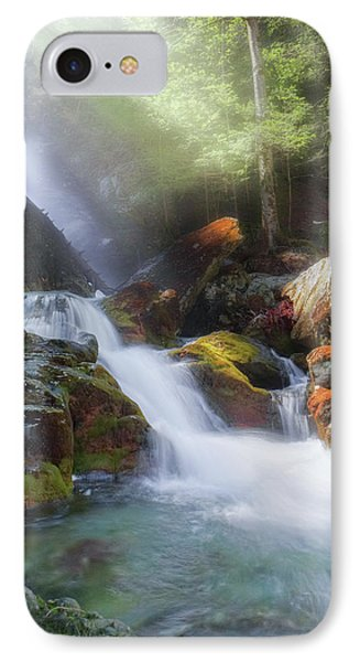 IPhone 7 Case featuring the photograph Race Brook Falls 2017 by Bill Wakeley