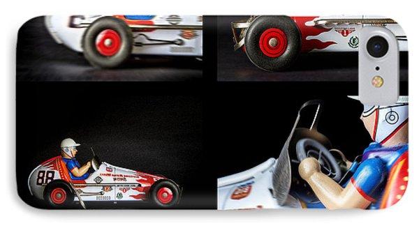 Race Car Collage IPhone Case