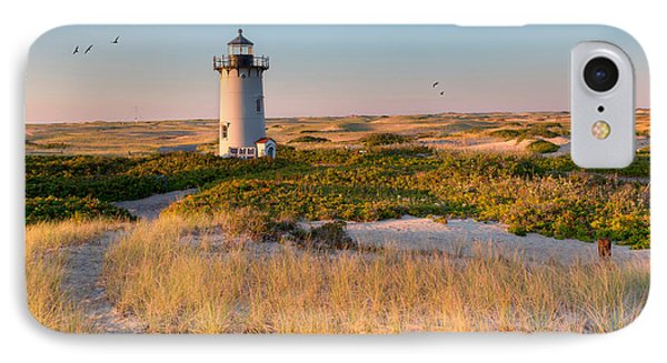Race Point Light Sand Dunes IPhone Case by Bill Wakeley