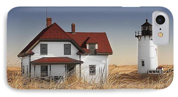 Race Point Lighthouse Cape Cod Phone Case by Dapixara Art