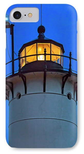 Race Point Lighthouse New England IPhone Case by Susan Candelario