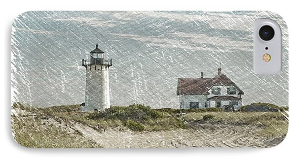 Race Point Lighthouse IPhone Case by Paul Miller