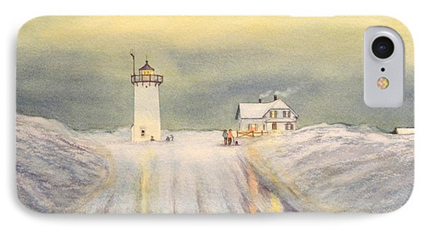 Race Point Lighthouse Provincetown IPhone Case