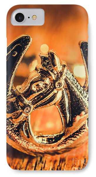 Racehorse Luck IPhone Case by Jorgo Photography - Wall Art Gallery