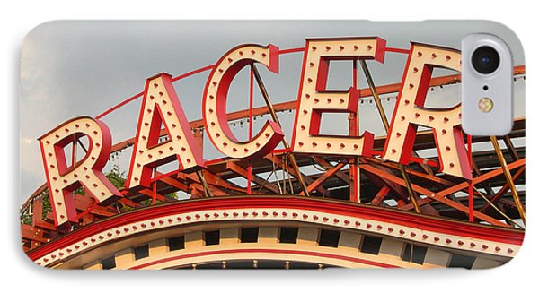 Racer Coaster Kennywood Park IPhone Case