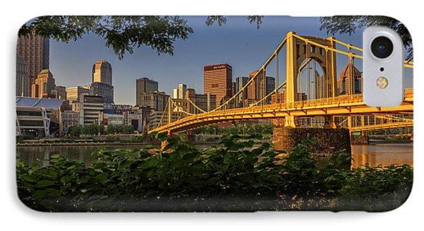 Rachel Carson Bridge IPhone Case by Rick Berk