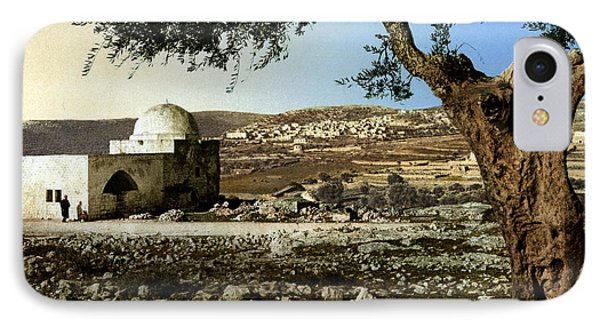 Rachel Tomb In Bethlehem Phone Case by Munir Alawi