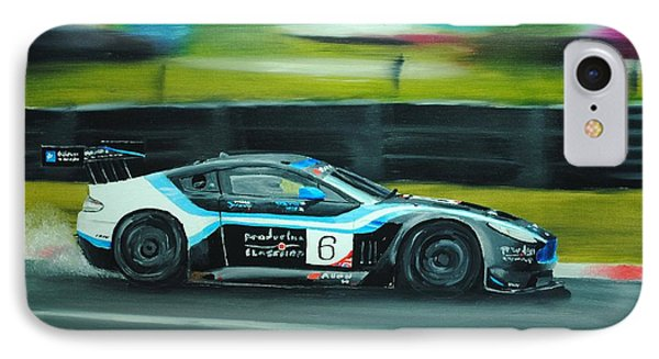 Racing Car Phone Case by Nolan Clark