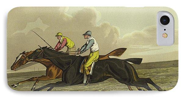 Racing IPhone Case by Henry Thomas Alken
