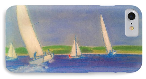 Racing Off Chester IPhone Case by Rae  Smith