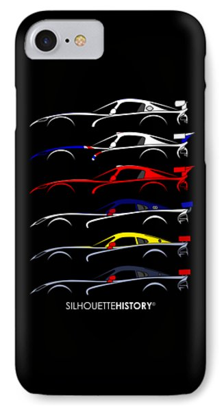 Racing Snake Silhouettehistory IPhone Case
