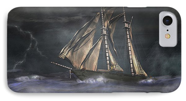 Racing The Storm IPhone Case by Carol and Mike Werner