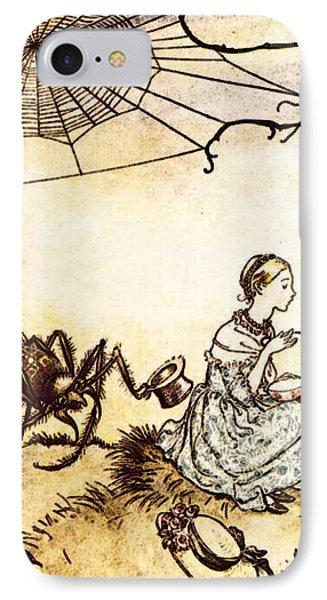 Rackham Arthur Mother Goose Little Miss Muffet IPhone Case